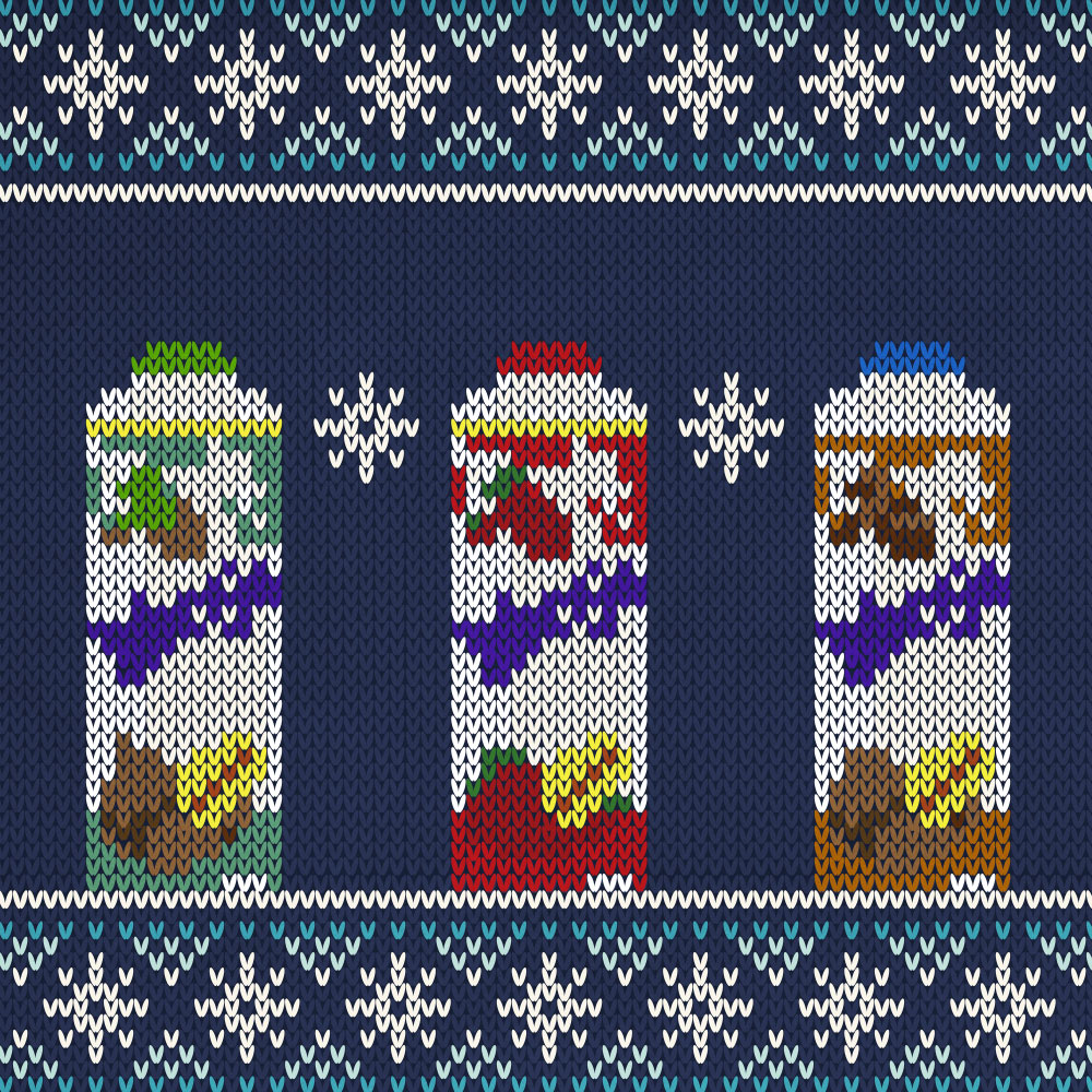 Christmas Jumper Pattern Mooju