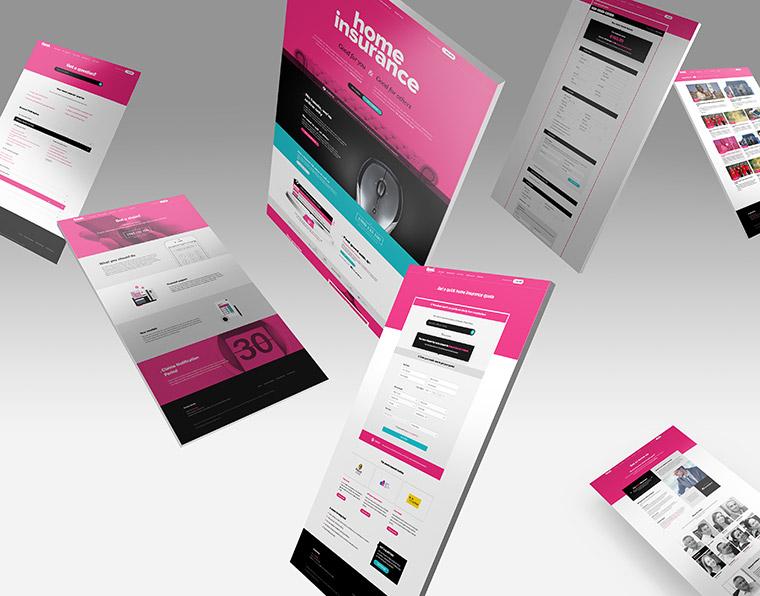 Good Website floating screens